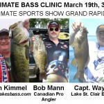 Ultimate Bass Clinic at Ultimate Sports Show Grand Rapids, March 19th 3pm