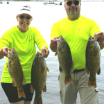 Lake St. Clair Bass Report Bob & Jackie Mann, 07-03-2016