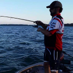 Lake St. Clair Bass Report 07-13-2016 Wayne Carpenter, Randy Forszt