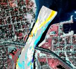 St Clair River Upper Depth Change US Corps Tracking Data