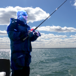 Lake St Clair Bass Fishing Report 3-23-2018, Cold Weather, Cold Water