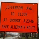 Clinton River Spillway Bridge Closed For Now